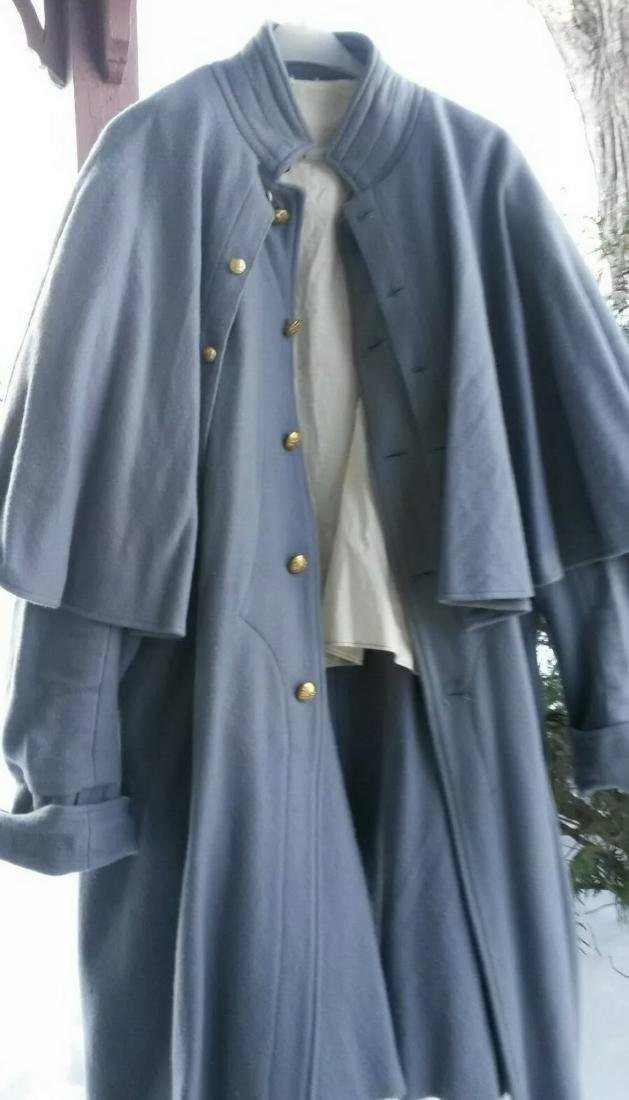 CIVIL WAR UNION FEDERAL INFANTRY OFFICERS GREAT COAT - 2