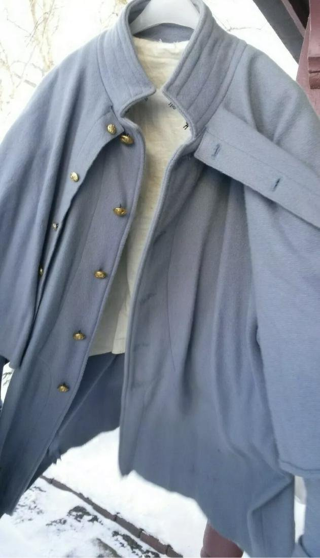 CIVIL WAR UNION FEDERAL INFANTRY OFFICERS GREAT COAT - 5