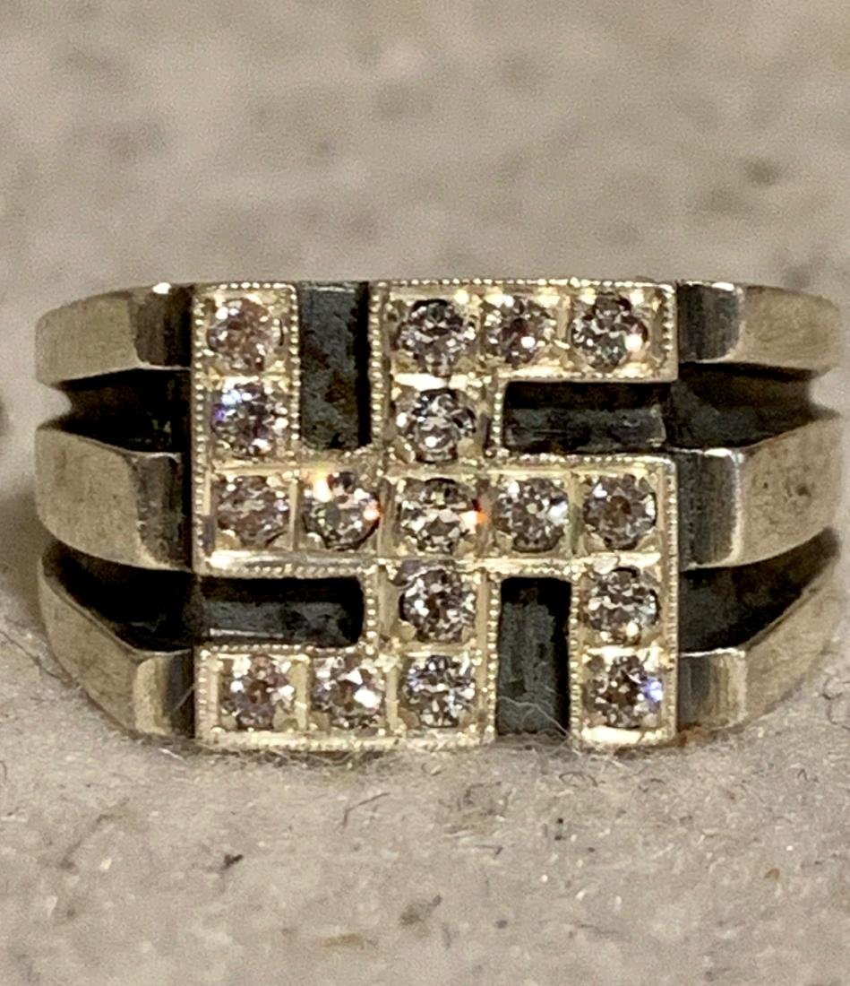 WW2 GERMAN NAZI OFFICERS RING