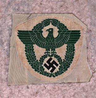 WW2 GERMAN NAZI SLEEVE PATCH - Jun 09, 2018 | Rare Treasures
