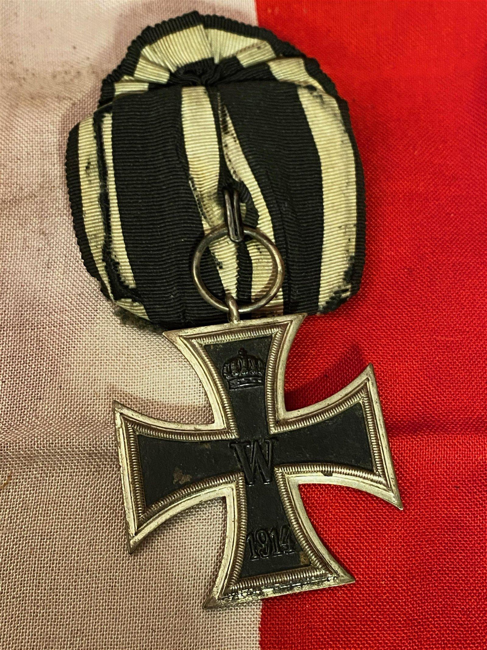 WW1 GERMAN IRON CROSS PIN