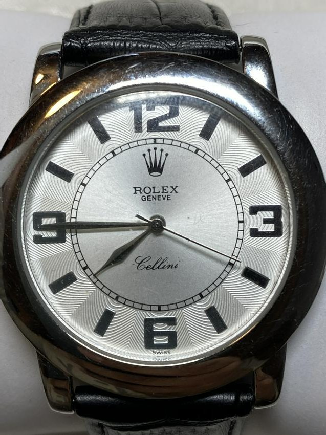 MENS ROLEX CELLINI GENEVE WRISTWATCH - UNAUTHENTICATED