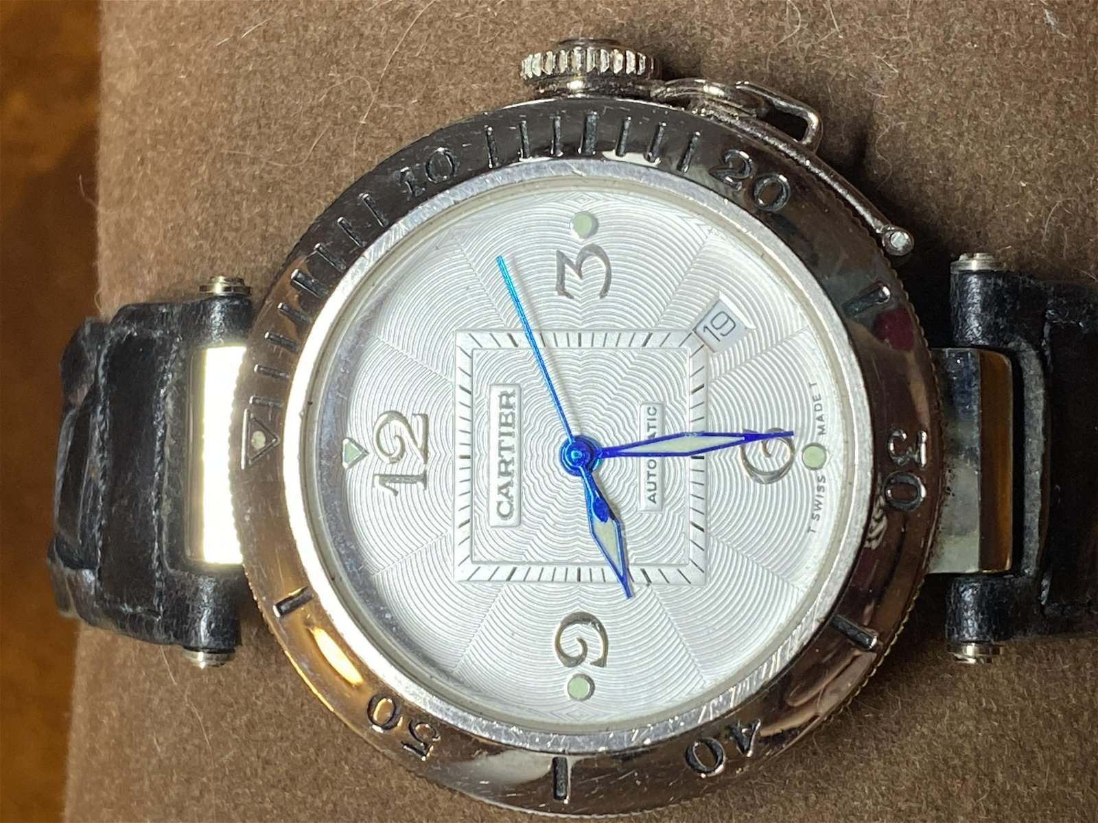 VINTAGE MENS CARTIER AUTOMATIC WATCH - UNAUTHENTICATED