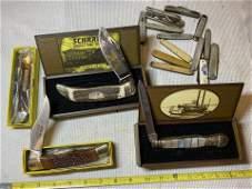 HIGH GRADE COLLECTION OF VINTAGE POCKET KNIVES