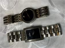 LOT OF (2) MENS MOVADO WRISTWATCHES