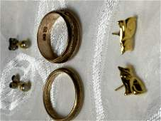 UNTESTED SCRAP GOLD LOT OF JEWELRY