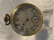ANTIQUE SOUTHBEND GOLD POCKET WATCH