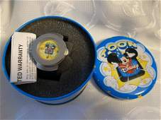 RARE MICKEY MOUSE DISNEY WATCH WCASE
