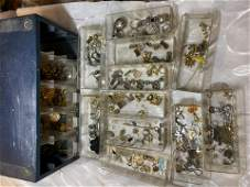UNSEARCHED COLLECTION BOX OF JEWELRY
