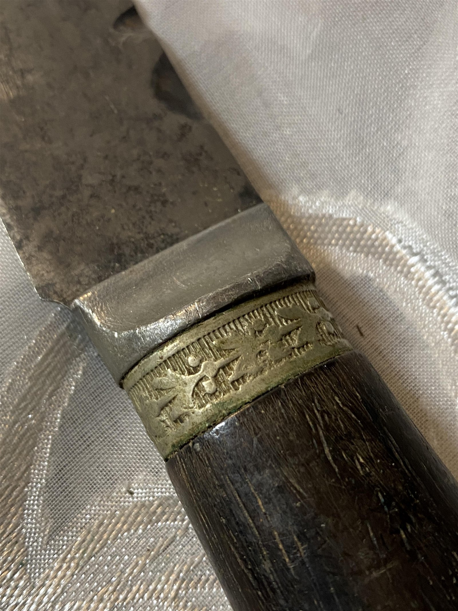 CIVIL WAR CONFEDERATE SOLDIERS HAND-MADE FIGHTING KNIFE