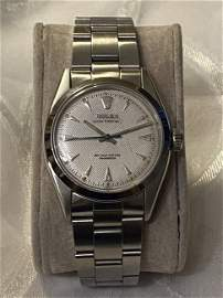 ROLEX OYSTER PERPETUAL MENS WRISTWATCH