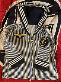 RARE WW2 GERMAN NAVY CHILD'S TUNIC