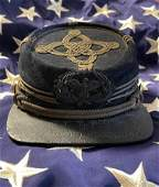 RARE CIVIL WAR UNION OFFICERS KEPI HAT CAP