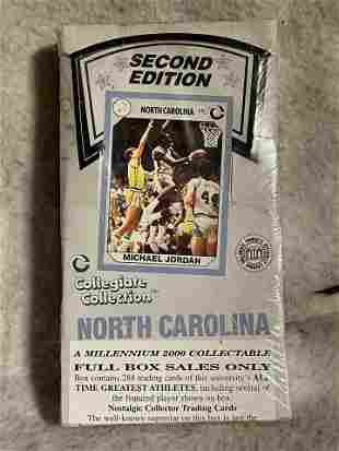 VINTAGE NORTH CAROLINA 2ND EDITION CARDS SEALED IN BOX