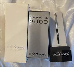 S.T. DUPONT PERSPECTIVE 2000 BALLPOINT PEN - RARE