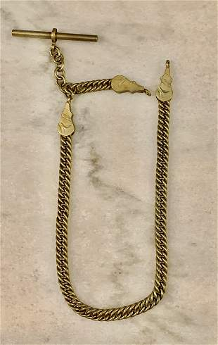 ANTIQUE POCKET WATCH CHAIN FOB