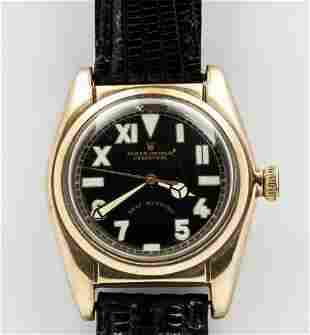 ROLEX OYSTER PERPETUAL 'BUBBLE BACK' WRISTWATCH REF.
