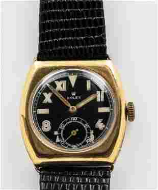 "ROLEX ""GOLD FILLED"" CALIF. DIAL WRISTWATCH"