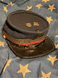RARE CIVIL WAR UNION OFFICER KEPI HAT CAP