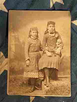 CIVIL WAR ERA PHOTO OF (2) DAUGHTERS