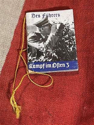 WW2 GERMAN DES FUHRERS MINIATURE BOOK