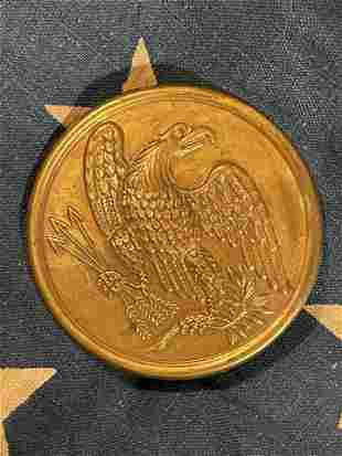 CIVIL WAR U.S. FEDERAL EAGLE BREAST PLATE