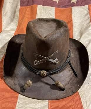 RARE CIVIL WAR JOHNNY REB CONFEDERATE SLOUCH HAT
