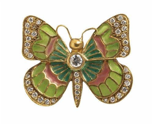 Diamond Brooches & Pins