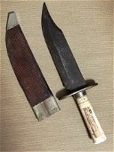 CIVIL WAR CONFEDERATE CLIP POINT BOWIE KNIFE FROM