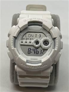 CASIO G-SHOCK GD-100WW ALL WHITE MENS WATCH