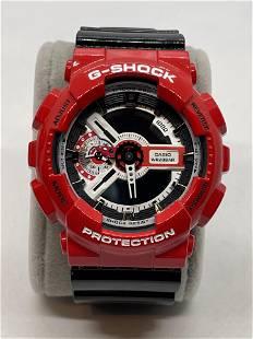 CASIO G-SHOCK GA-110RD RED/BLACK WRISTWATCH