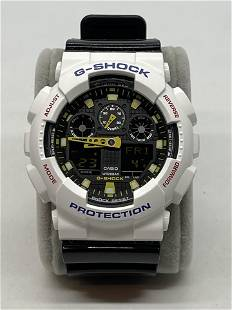 CASIO G-SHOCK GA-100CS WRISTWATCH