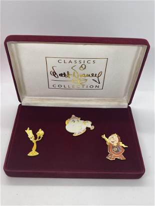 VINTAGE WALT DISNEY COLLECTION CHARACTER PINS
