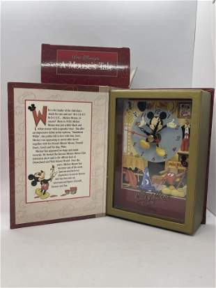 A MOUSE'S TALE VINTAGE STORYBOOK CLOCK