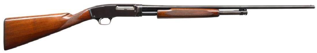WINCHESTER MODEL 42 SKEET GRADE PUMP SHOTGUN.