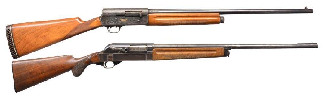BROWNING & WALTHER SEMI AUTO SHOTGUNS.