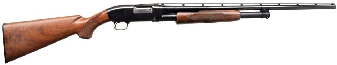 BROWNING MODEL 12 PUMP ACTION SHOTGUN.