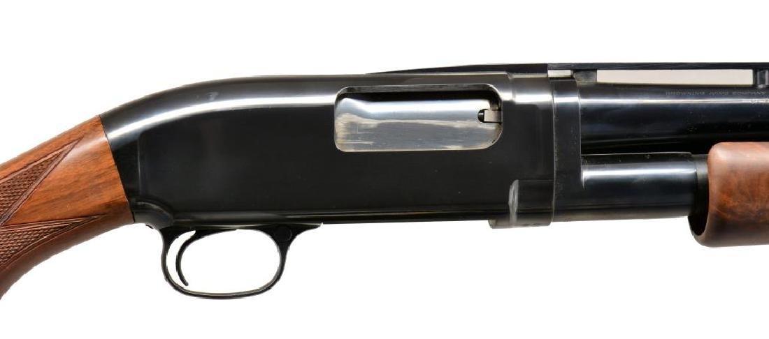BROWNING MODEL 12 PUMP ACTION SHOTGUN. - 2
