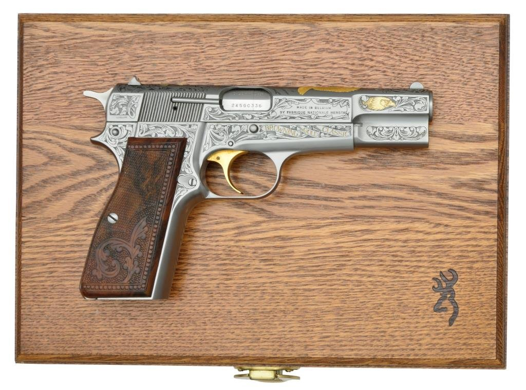 BROWNING MODEL GOLD CLASSIC SEMI AUTO PISTOL.