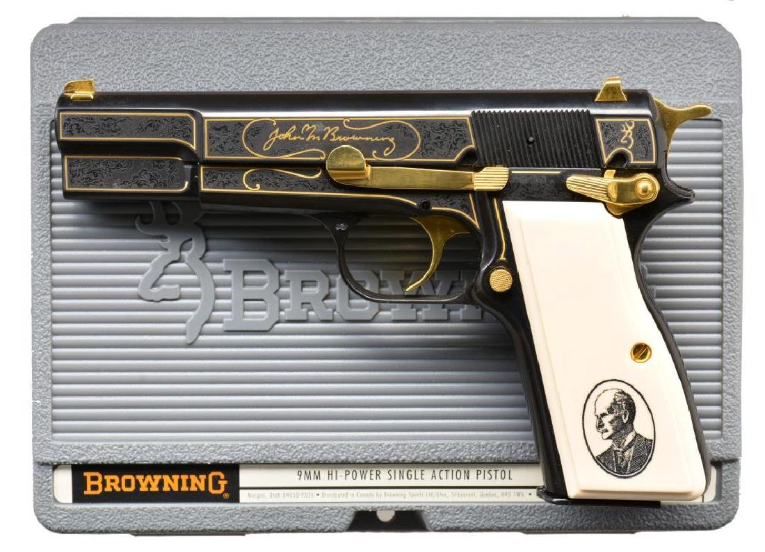 BROWNING SESQUECENTENNIAL HI POWER SEMI AUTO