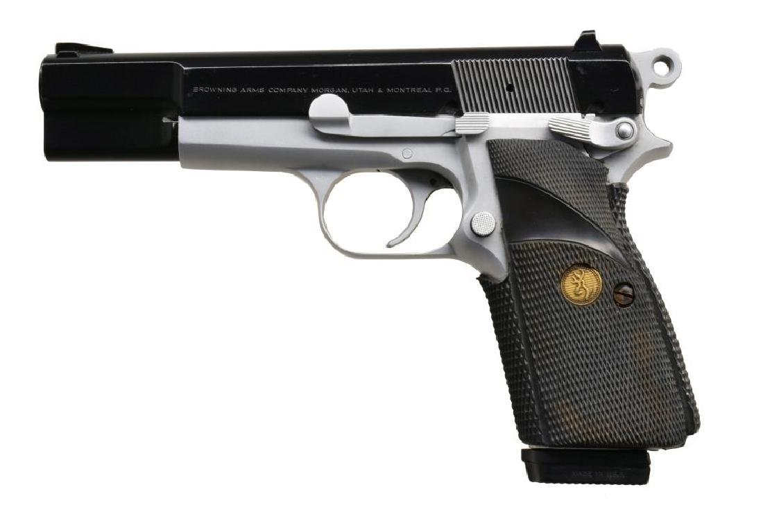 BROWNING HI POWER PRACTICAL SEMI AUTO PISTOL.