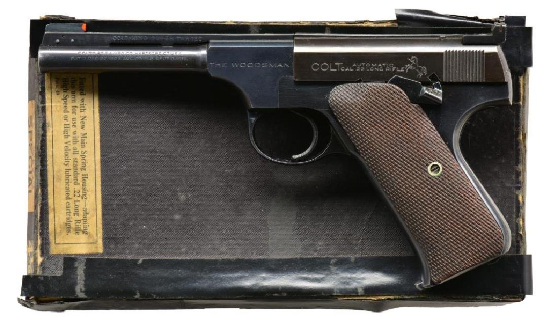 COLT KING SUPER TARGET WOODSMAN SPORT MODEL PISTOL