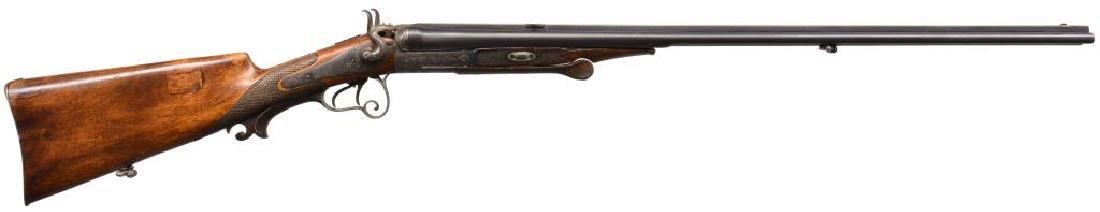 AUSTRIAN SXS COMBINATION GUN.