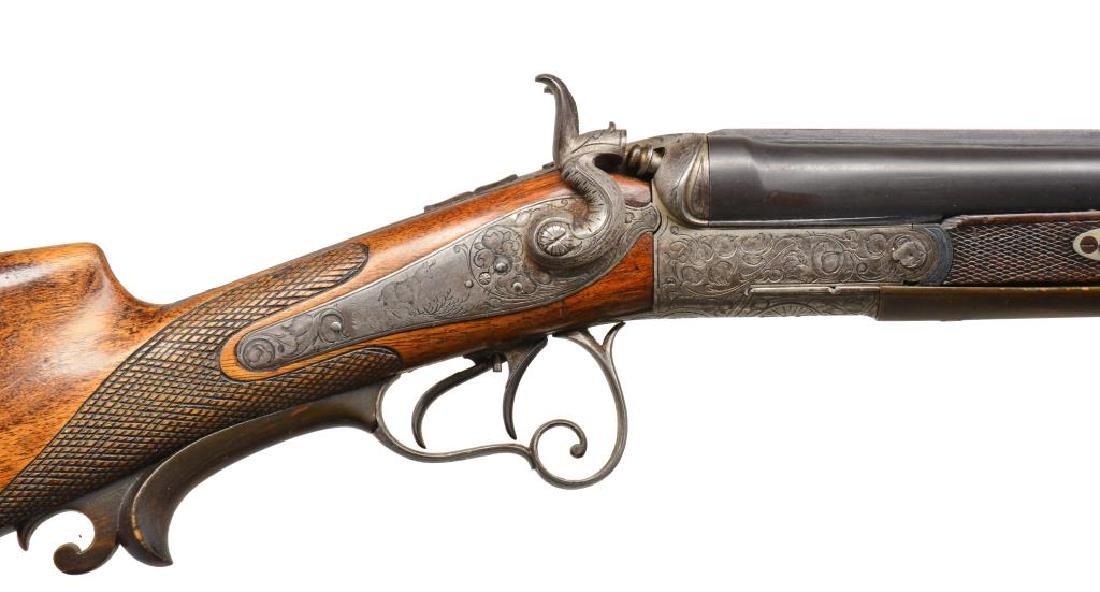 AUSTRIAN SXS COMBINATION GUN. - 3