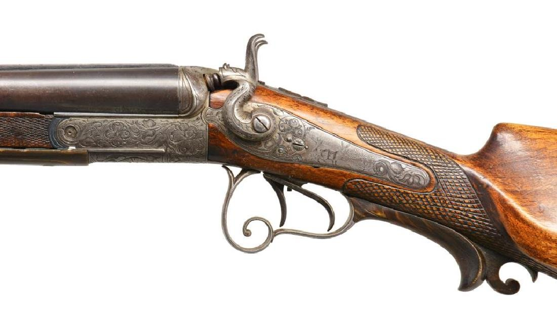 AUSTRIAN SXS COMBINATION GUN. - 4
