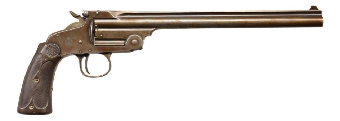 SMITH & WESSON MODEL OF 1891 SINGLE SHOT TARGET - 2