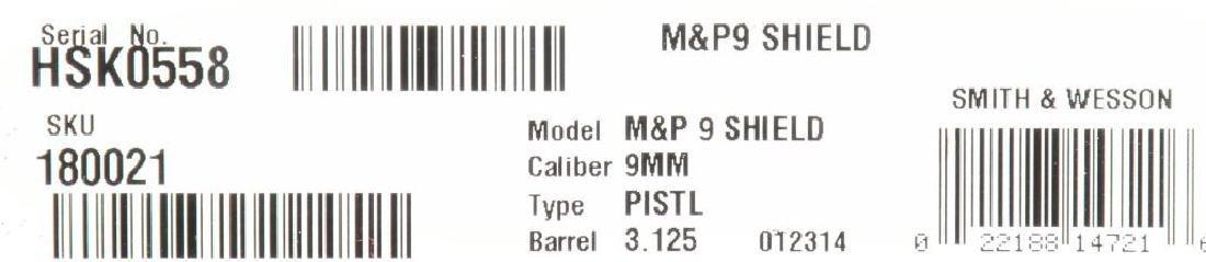 2 SMITH & WESSON MODEL M&P SEMI AUTO PISTOLS. - 4