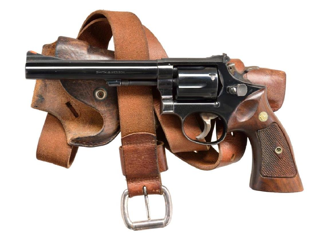 SMITH & WESSON MODEL 14-2 TARGET REVOLVER.