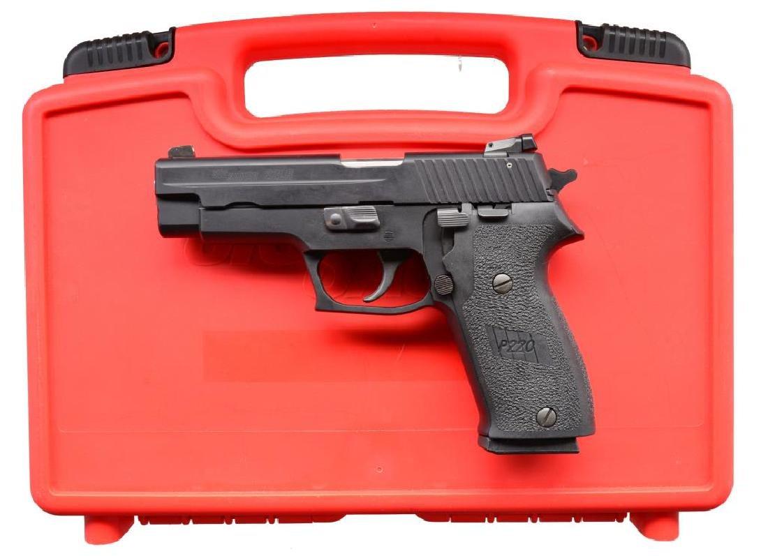 SIG SAUER MODEL P220 SEMI AUTO PISTOL.