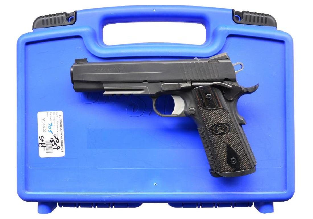SIG SAUER 1911 BLACKWATER EDITION SEMI AUTO